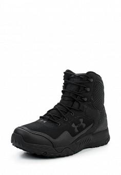 Ботинки, Under Armour, цвет: черный. Артикул: UN001AMTVK58. Мужская обувь / Ботинки и сапоги