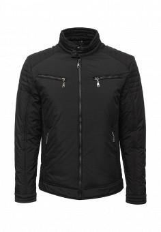 Куртка утепленная, Vanzeer, цвет: черный. Артикул: VA016EMWKJ24. Мужская одежда / Верхняя одежда / Пуховики и зимние куртки