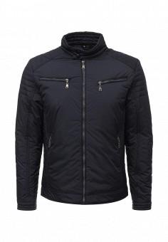 Куртка утепленная, Vanzeer, цвет: синий. Артикул: VA016EMWKJ25. Мужская одежда / Верхняя одежда / Пуховики и зимние куртки
