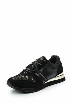 Кроссовки, Versace Jeans, цвет: черный. Артикул: VE006AWUBI41. Премиум / Обувь / Кроссовки и кеды