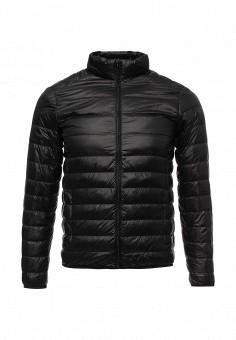 Пуховик, Vitario, цвет: черный. Артикул: VI056EMXFA28. Мужская одежда / Верхняя одежда / Пуховики и зимние куртки