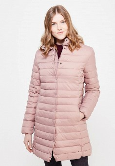 Пуховик, Zarina, цвет: розовый. Артикул: ZA004EWUOP75. Женская одежда / Верхняя одежда
