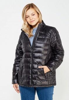 Пуховик, Zizzi, цвет: черный. Артикул: ZI007EWWCJ38. Женская одежда / Верхняя одежда / Пуховики и зимние куртки