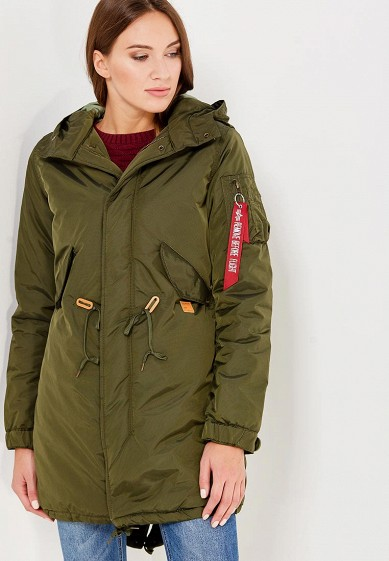 Парка Alpha Industries Fishtail CW TT