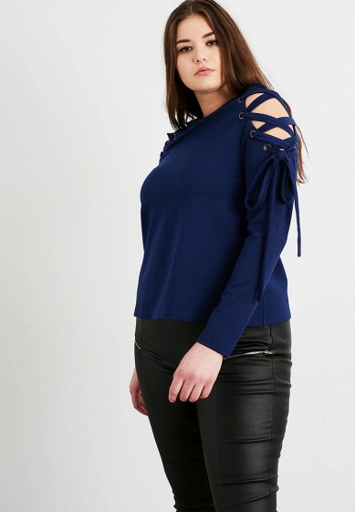 Лонгслив LOST INK PLUS TOP WITH EYELET LACE UP SLEEVE