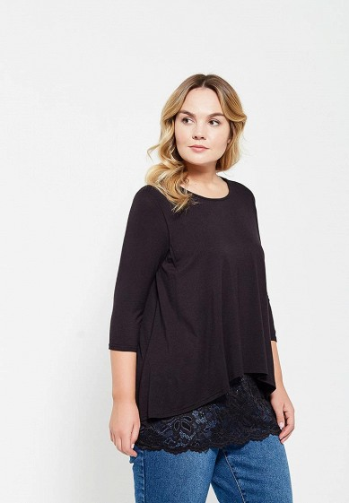 Лонгслив LOST INK PLUS LACE HEM TEE