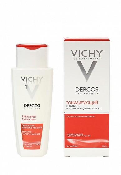 Шампунь Тонизирующий Dercos против выпадения волос 200 мл
